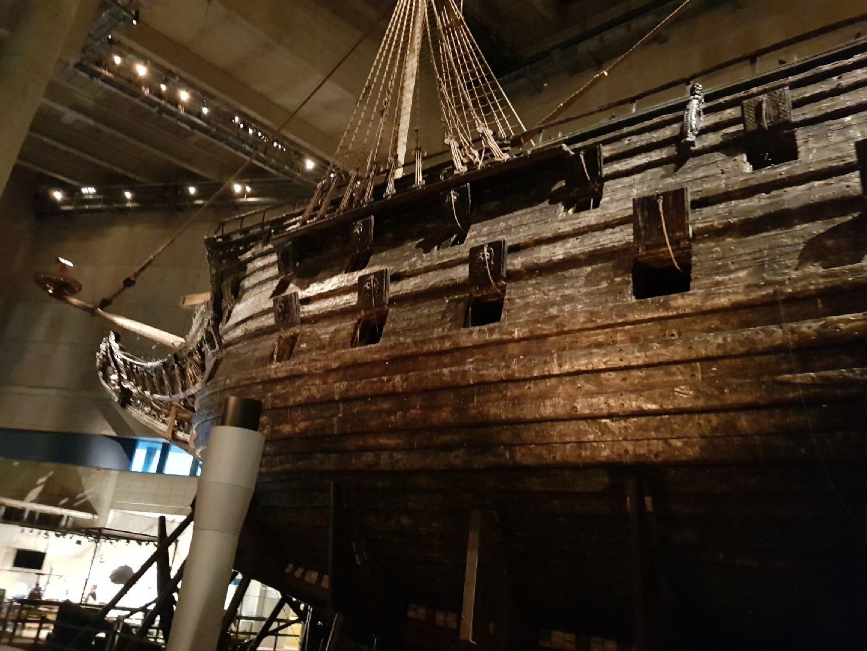 Spännande besök på Vasamuseet