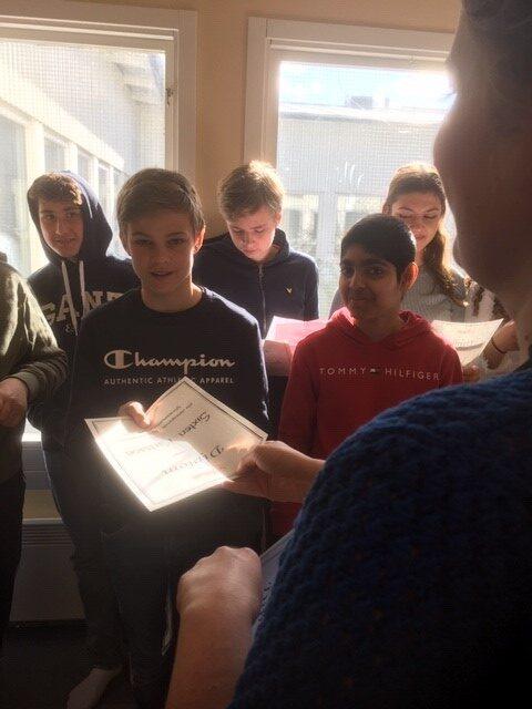 Högläsningstävling i tyska